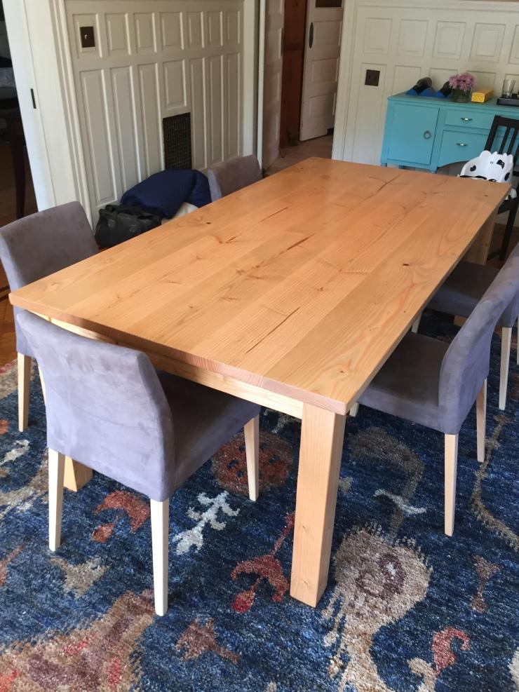 Hnadmade Custom 7ft Table Philadelphia
