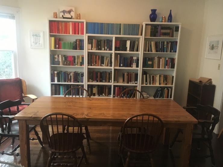 custom wood table new haven