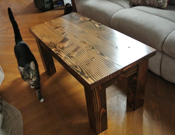 Dark-Walnut-Cofee-Table