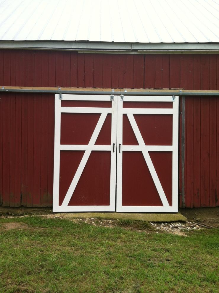 Custom Wood Barn Doors in Prince Fredrick Maryland
