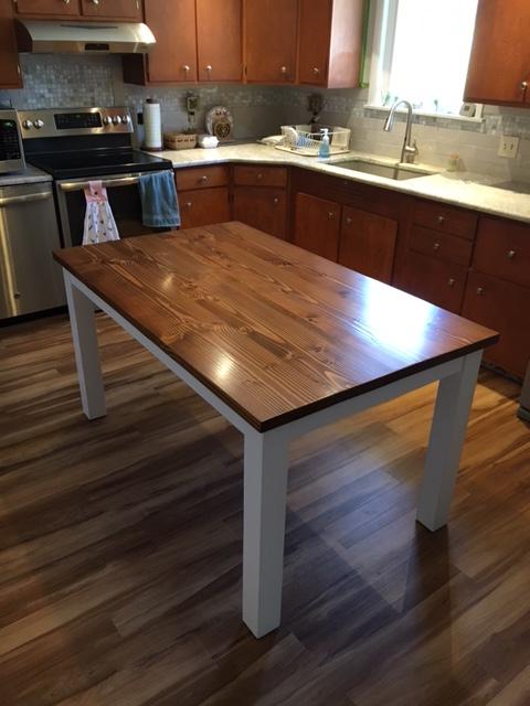 Custom Kitchen Table Pennsburg Pennsylvania