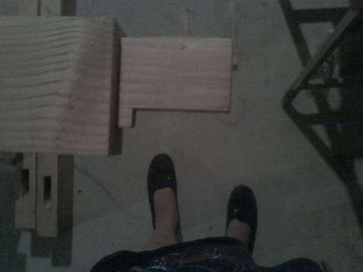 handmade tenon for barn doors